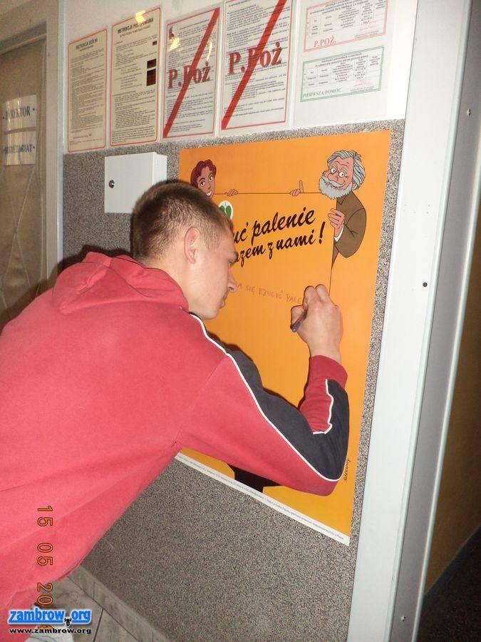 Kampania Antynikotynowa W Bursie Szkolnej Zambrów Zambroworg