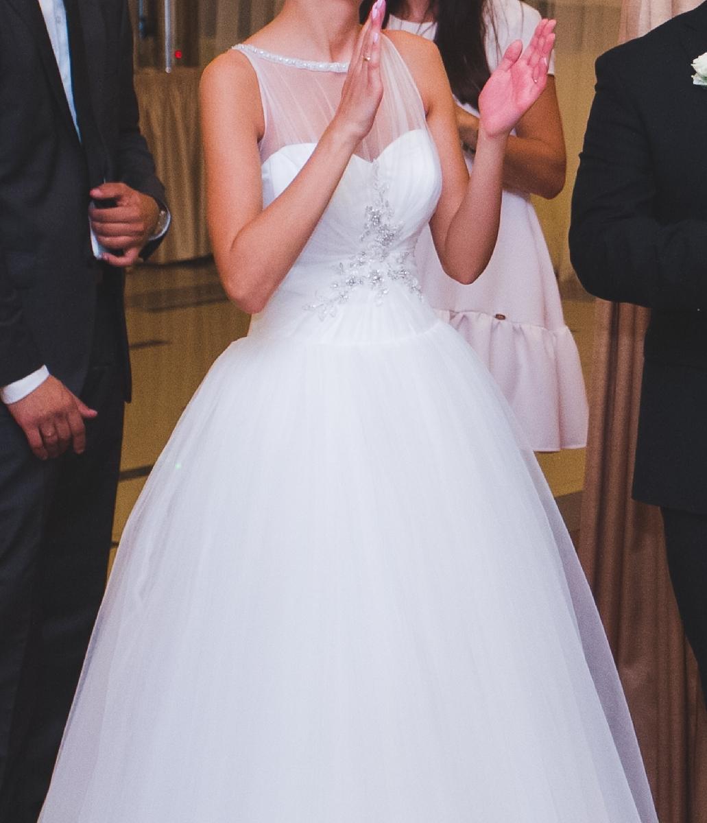 Tiulowa Suknia ślubna Roz 34 Ogłoszenia 213896 Zambroworg