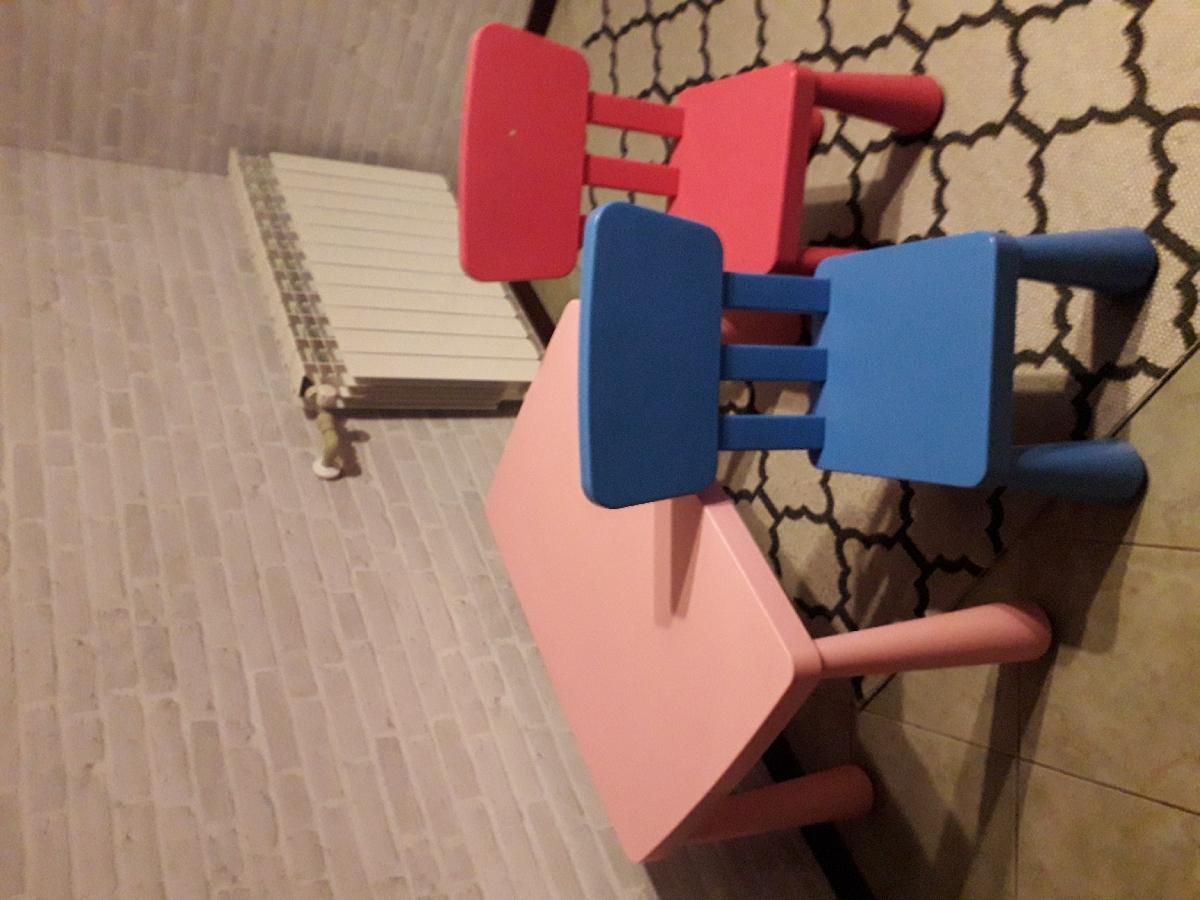 Stolik I Krzesełka Ikea Mammut Ogłoszenia 265230 Zambroworg