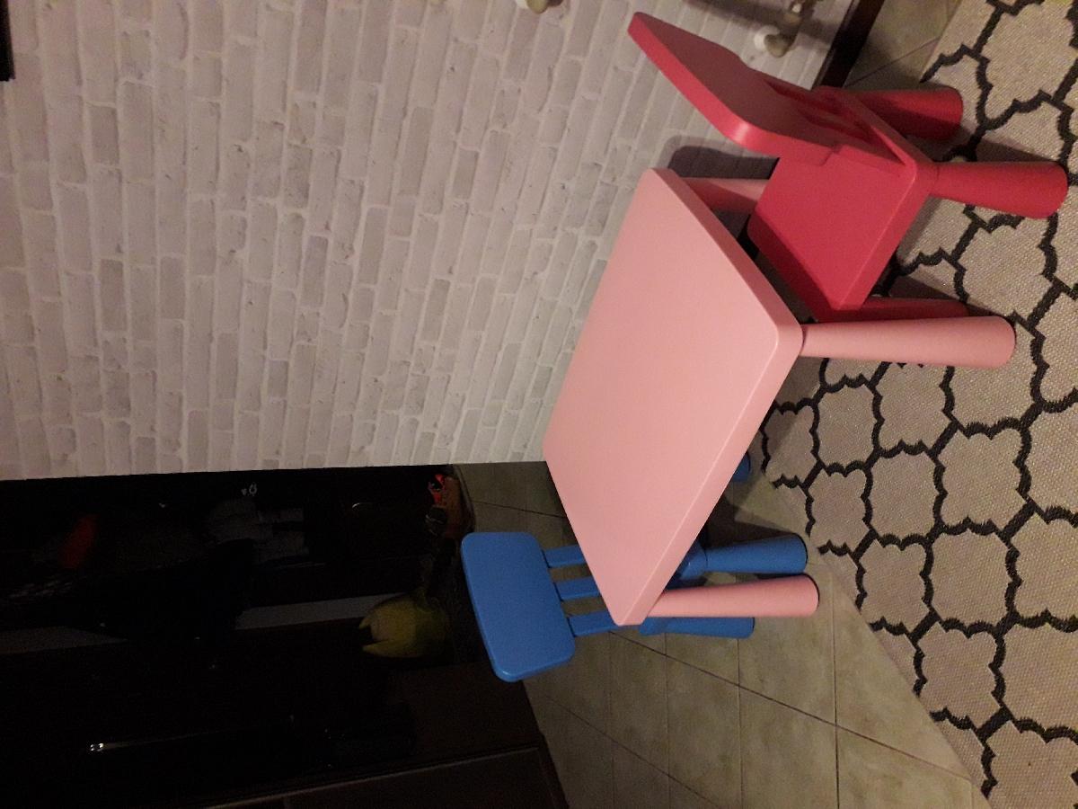 Stolik I Krzesełka Ikea Mammut Ogłoszenia 315570 Zambroworg